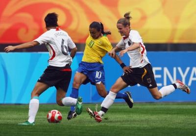 Marta et le Brésil accrochent l'Allemagne (photo : Gettyimages)