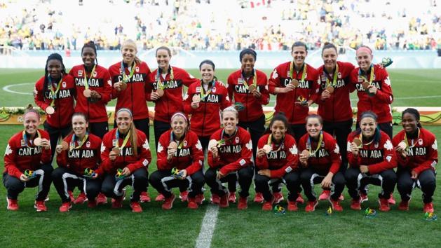 #Rio2016 - JO - Le CANADA garde la médaille de bronze