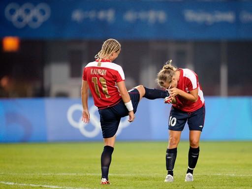 Les Norvégiennes Wiik et Kaurin (photo : foto-net)