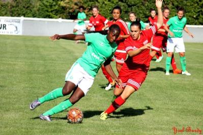 Sissoko et les Vertes ont préservé leur but (photo Yoël bardy)