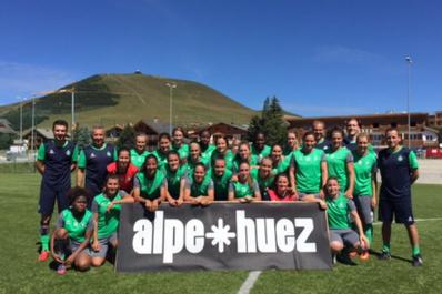 La reprise a débuté par un stage à l'Alpe d'Huez (photo ASSE)