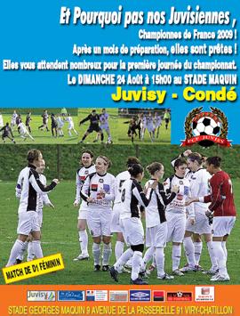 L'affiche de Juvisy - Condé