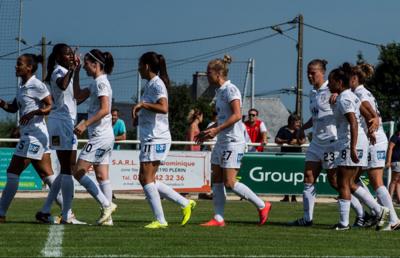Les Juvisiennes ont bien réussi leurs matchs de préparation (photo club)