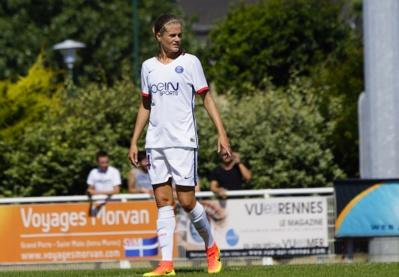 Irene Paredes sera la joueuse la plus grande de l'effectif parisien (photo Sébastien Duret)