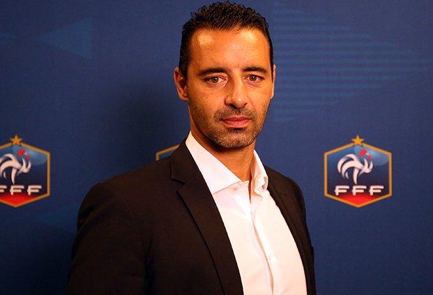 Olivier Echouafni, nouveau sélectionneur des Bleues (photo FFF)