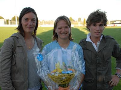 Laura Bardet, élue joueuse du match à Soyaux (photo : Benoît Deroualle)