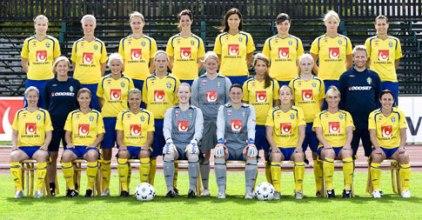 La sélection suédoise, qualifiée