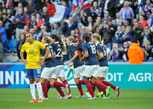 Un an après le Havre, France et Brésil se retrouveront à Grenoble (photo HAC)