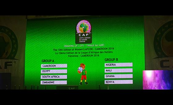 CAN 2016 : CAMEROUN - EGYPTE en ouverture le 19 novembre