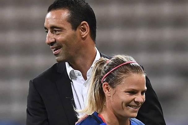 Echouafni, heureux après ce succès tricolore (photo AFP)