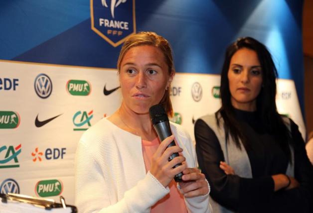 Camille dispute sa 17e saison en D1 féminine (photo FFF)