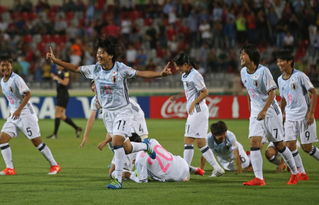 Takahashi et le Japon en voie de qualification (photo FIFA.com)