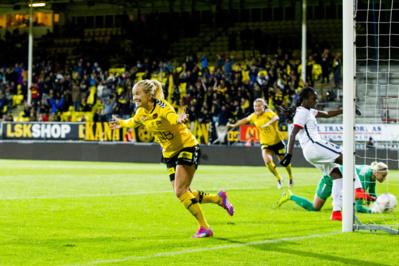 Mykjåland après le but du 2-1 (photo Scanpix)