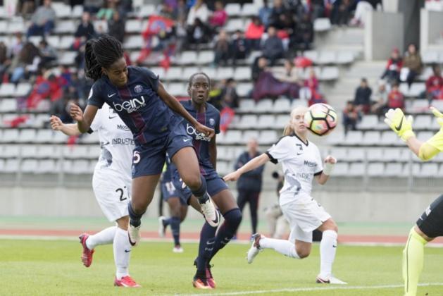 Katoto inscrit un doublé (photo PSG.fr)