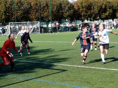 Juvisy décroche sa victoire en l'espace d'une minute (photo : Marc Giachello)