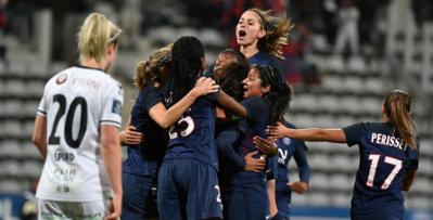 La joie parisienne (photo TeamPics/PSG.fr)