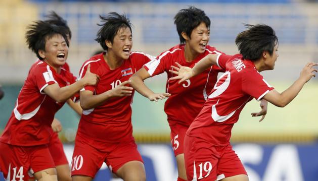 La Corée du Nord n'a jamais perdu espoir (photo FIFA.com)