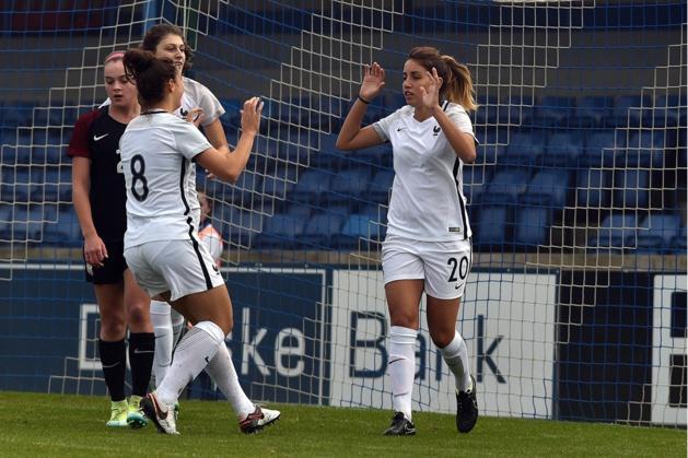 Boutaleb avait permis à la France de mener au score (photo IrishFA)