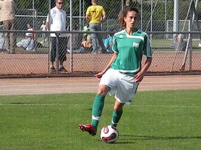 Deuxième triplé de la saison pour Kheira Hamraoui (photo : actufoot)