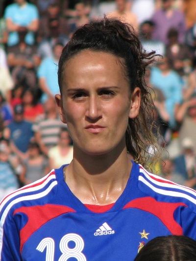 Hamraoui a débloqué le compteur des Bleuettes (photo : S. Duret)