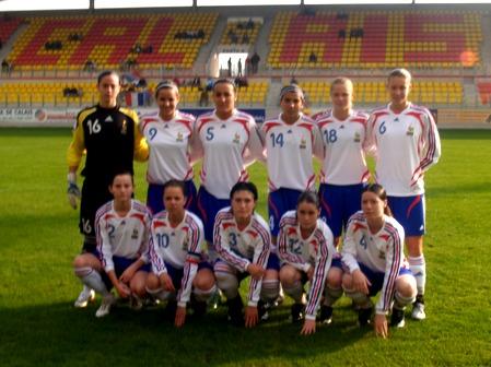 L'équipe de France lors du 2e match (photo : calais)
