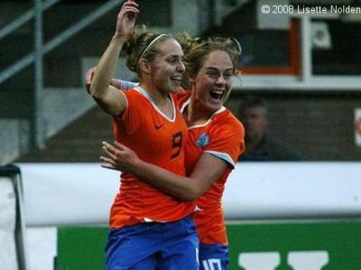 Melis et les Pays-Bas joueront les barrages (photo : Lisette Nolden)