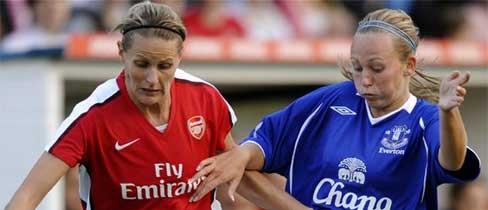 Action lors d'Arsenal - Everton (source : fa.com)