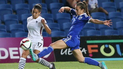 Clara Matéo était présente aux deux derniers Euro U19