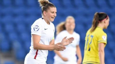 Marie-Charlotte Léger, l'une des quatre Montpelliéraines sélectionnées (photo UEFA.com)