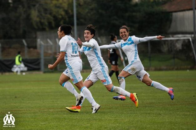 Brétigny inscrit le but décisif à l'heure de jeu (photo Meryll Vian/OM.net)