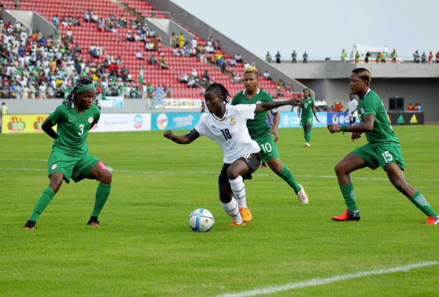 Nigeria et Ghana favoris du groupe ont partagé les points (photo CAF)