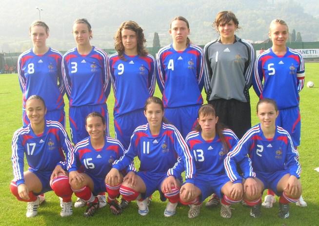 Le onze tricolore lors du 2e match (photo : C.D.)