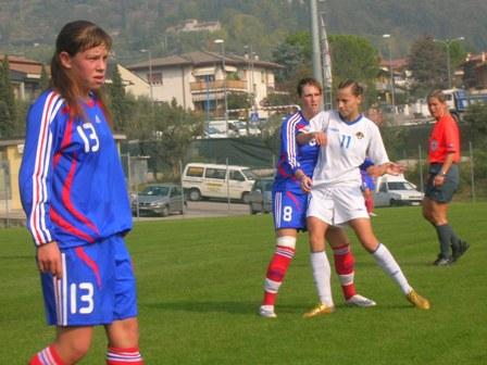 L'équipe azerie se sera bien battue à l'image de Aliyeva avec Garesio
