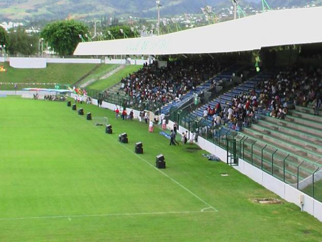 Le Stade de l'Est à Saint-Denis de la Réunion