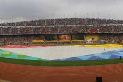 Le stade comble d'Ahmadou Ahidjo (photo CAF)