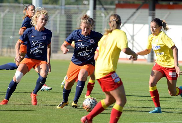 Montpellier et Albi sont les derniers à terminer l'année 2016 en D1F