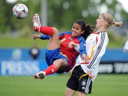 Les Costa-Ricaines chutent lourdement face à l'Allemagne (foto-net/fifa.com)