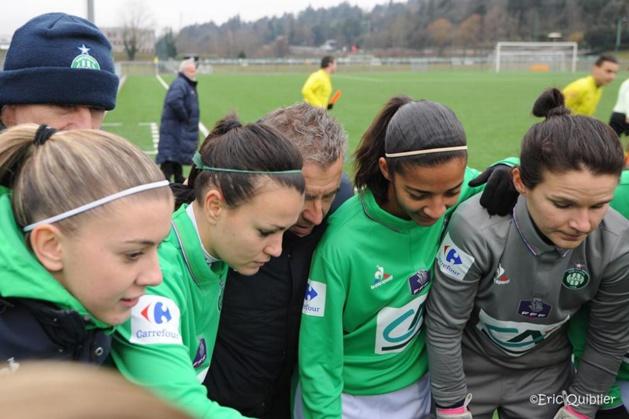 Qualifiées pour les 16es de finale, les Stéphanoises jouent trois jours plus tard en championnat à nouveau à domicile