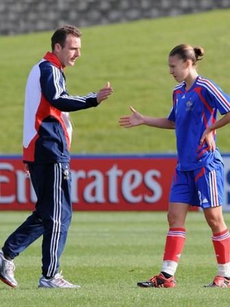 Gérard Sergent et Charlotte Poulain (foto-net/fifa.com)