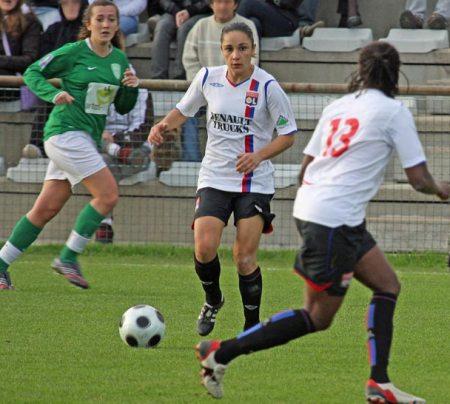 Un quintuplé pour Brétigny et l'OL s'impose 8-0 (photo : Van Gol)