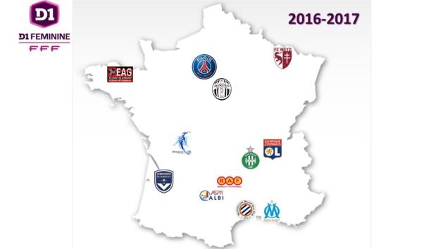 #D1F - J13 - LYON et le PSG enchaînent, ALBI s'impose, MONTPELLIER et JUVISY perdent du terrain