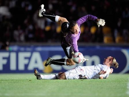 La gardienne chilienne en action (foto-net)