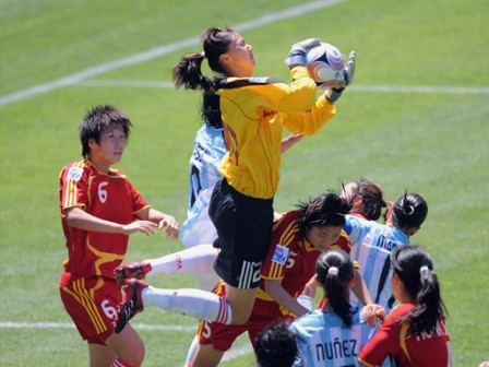 Chinoises et Argentines se neutralisent (foto-net)