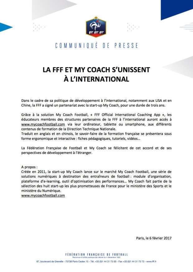 MY COACH - Le savoir-faire français récompensé