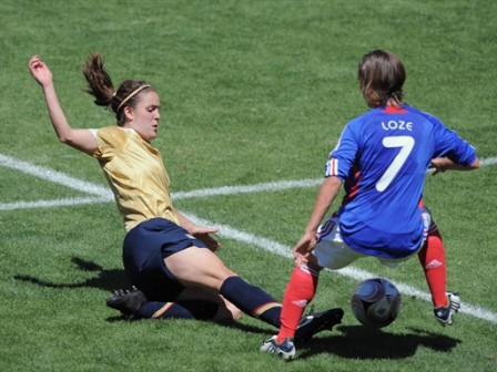 Loze et les Tricolores n'ont pas déstabilisé la défense (foto-net)