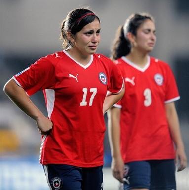 Les Chiliennes éliminées de leur Mondial (foto-net)