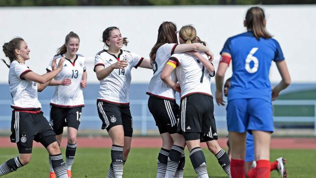 La capitaine allemande a inscrit le seul but (photo DFB)