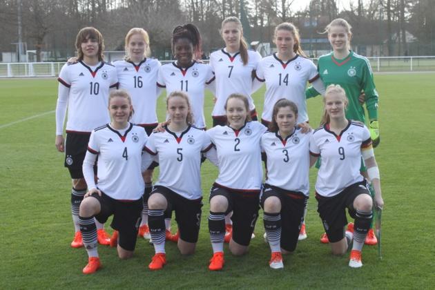 L'équipe allemande