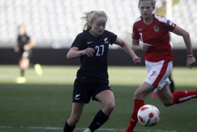 Deuxième défaite pour la Nouvelle-Zélande face à l'Autriche, adversaire des Bleues à l'Euro 2017