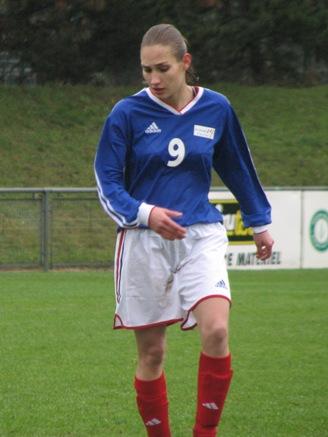 La Toulousaine Castera, unique buteuse du match (S. Duret)